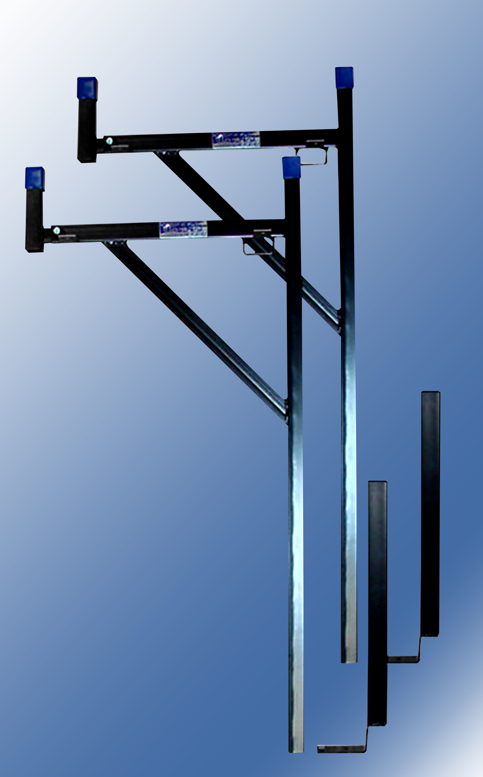 Black Removable Ladder Rack Texas Truck Racks