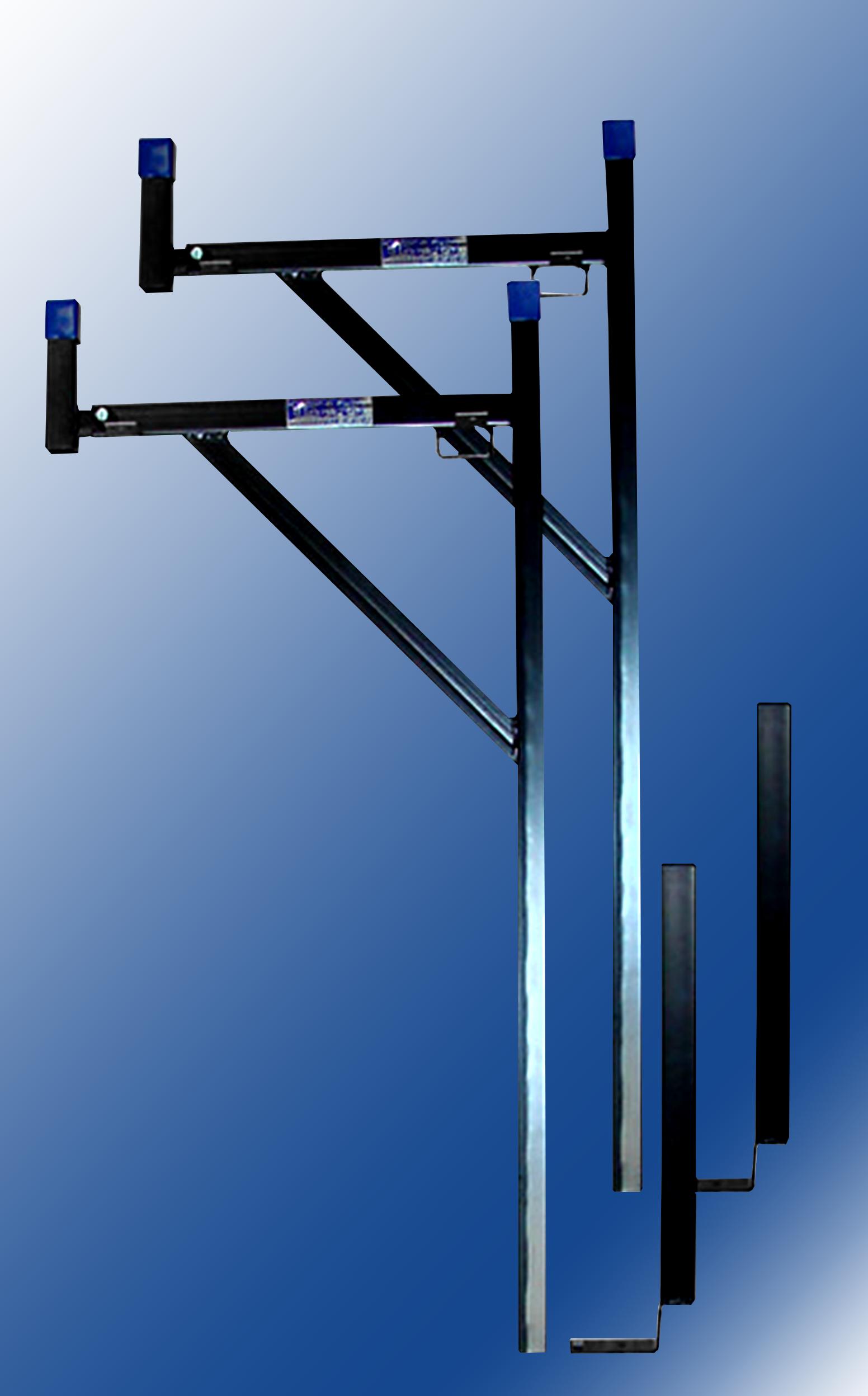 Black Removable Ladder Rack Texas Truck Racks